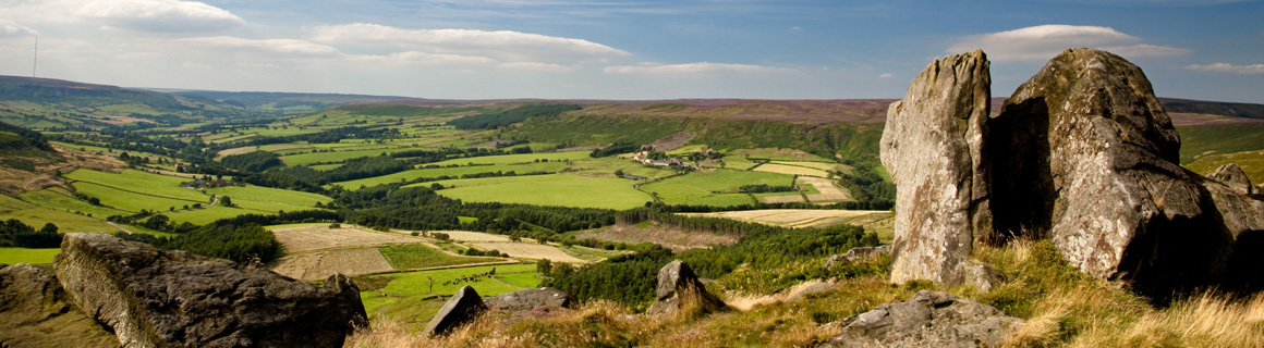 A View of the Yorkshire Dales - Wayside Park & Lakes